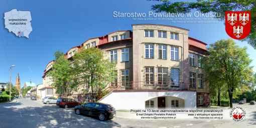 Prezentacja panoramiczna dla obiektu Starostwo Powiatowe w Olkuszu