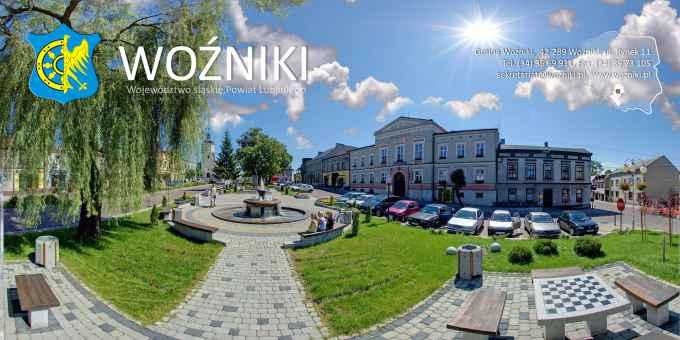 Prezentacja panoramiczna dla obiektu gmina WOŹNIKI