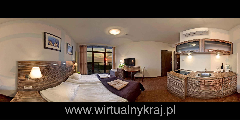 Prezentacja panoramiczna dla obiektu Apartamenty Arka Medical Spa