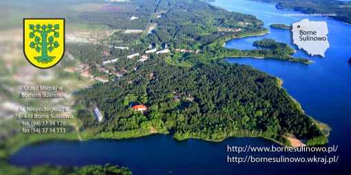 Prezentacja panoramiczna dla obiektu miasto Borne Sulinowo