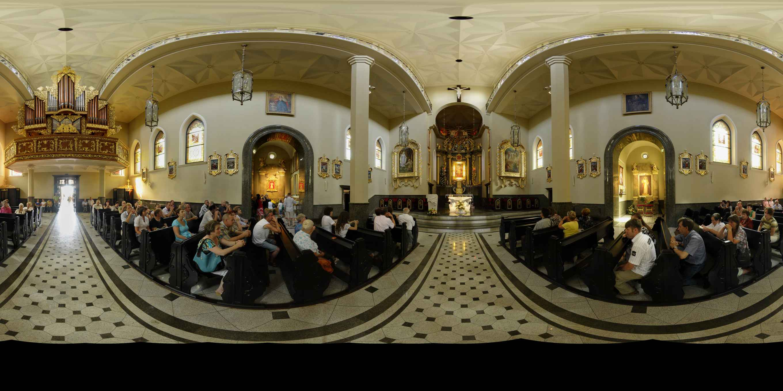 Prezentacja panoramiczna dla obiektu Bazylika Matki Boskiej Królowej Polski