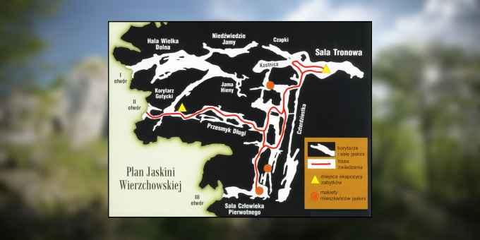 Prezentacja panoramiczna dla obiektu Jaskinia Wierzchowska