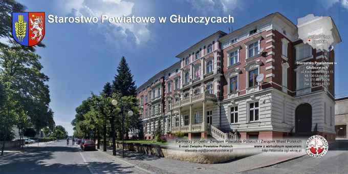 Prezentacja panoramiczna dla obiektu Starostwo Powiatowe w Głubczycach