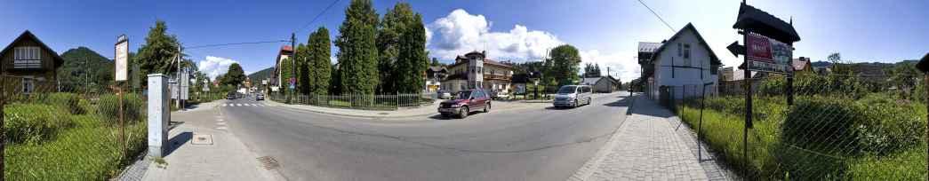 Prezentacja panoramiczna dla obiektu miasto SZCZAWNICA