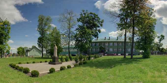 Prezentacja panoramiczna dla obiektu Zespół Szkół w Żdanowie