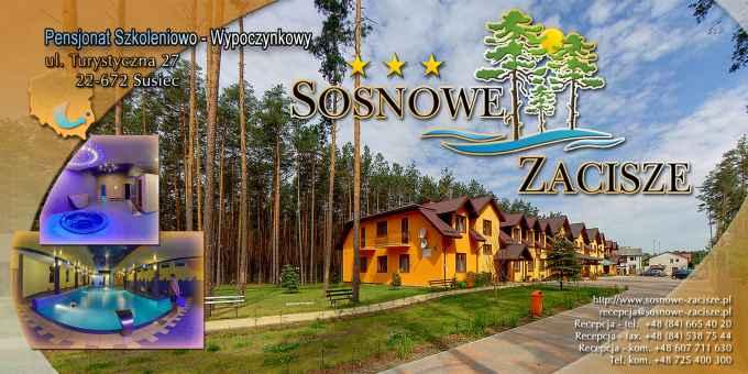 """Prezentacja panoramiczna dla obiektu Pensjonat Wypoczynkowy """"SOSNOWE ZACISZE"""""""