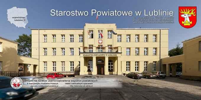 Prezentacja panoramiczna dla obiektu Starostwo Powiatowe w Lublinie