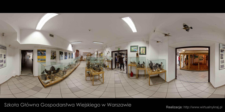 Prezentacja panoramiczna dla obiektu Kampus SGGW w Rogowie