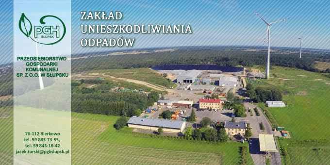 Prezentacja panoramiczna dla obiektu Zakład Unieszkodliwiania Odpadów w Bierkowie k. Słupska
