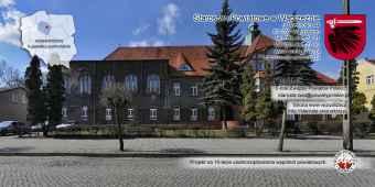 Prezentacja panoramiczna dla obiektu Starostwo Powiatowe w Wąbrzeźnie