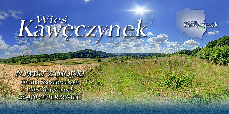Prezentacja panoramiczna dla obiektu wieś KAWĘCZYNEK