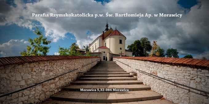 Prezentacja panoramiczna dla obiektu Parafia Rzymskokatolicka p.w. Św. Bartłomieja Ap. w Morawicy