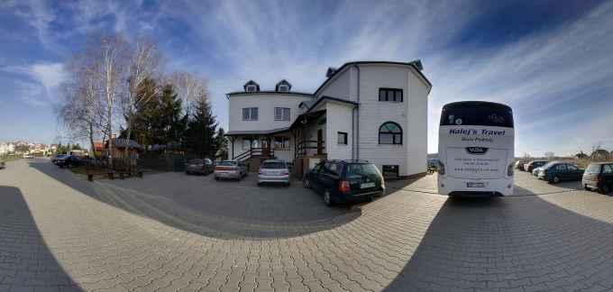Prezentacja panoramiczna dla obiektu I-sze Liceum Ogólnokształcące i Technikum Hotelarskie w Zamościu