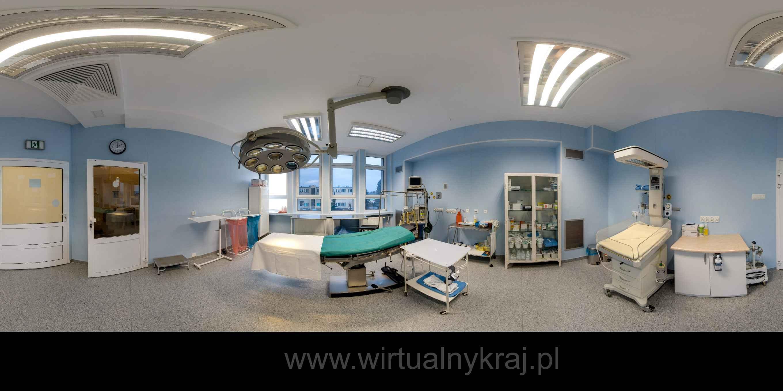Prezentacja panoramiczna dla obiektu Zespół Porodowy w Szpitalu w Parczewie