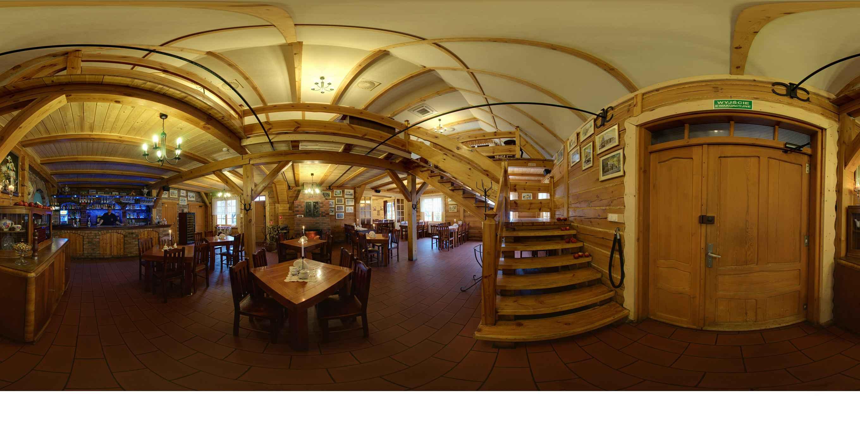 Prezentacja panoramiczna dla obiektu Restauracja