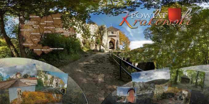 Prezentacja panoramiczna dla obiektu Wirtualna wycieczka po Powiecie Krakowskim