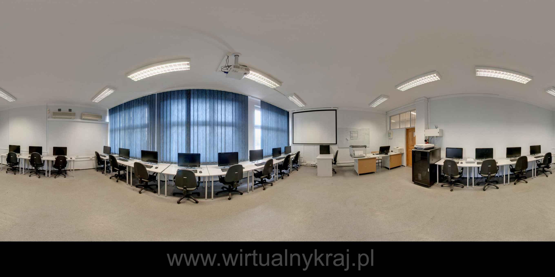 Prezentacja panoramiczna dla obiektu Zespół Szkół Poligraficzno-Medialnych w Krakowie