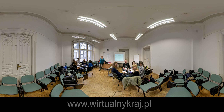 Prezentacja panoramiczna dla obiektu Wyższa Szkoła Europejska im. ks. Józefa Tischnera