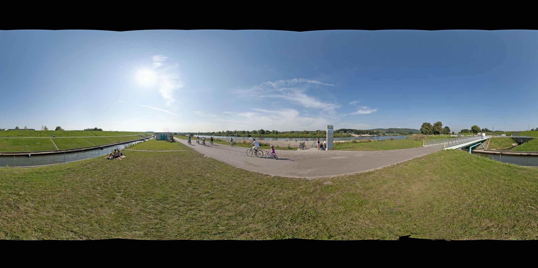 Prezentacja panoramiczna dla obiektu Tramwaj Wodny w Krakowie