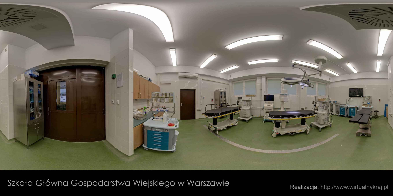 Prezentacja panoramiczna dla obiektu Weterynaryjne Centrum Badawcze SGGW