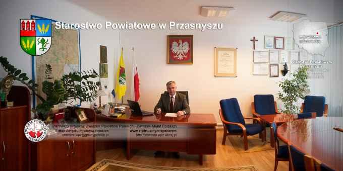 Prezentacja panoramiczna dla obiektu Starostwo Powiatowe w Przasnyszu