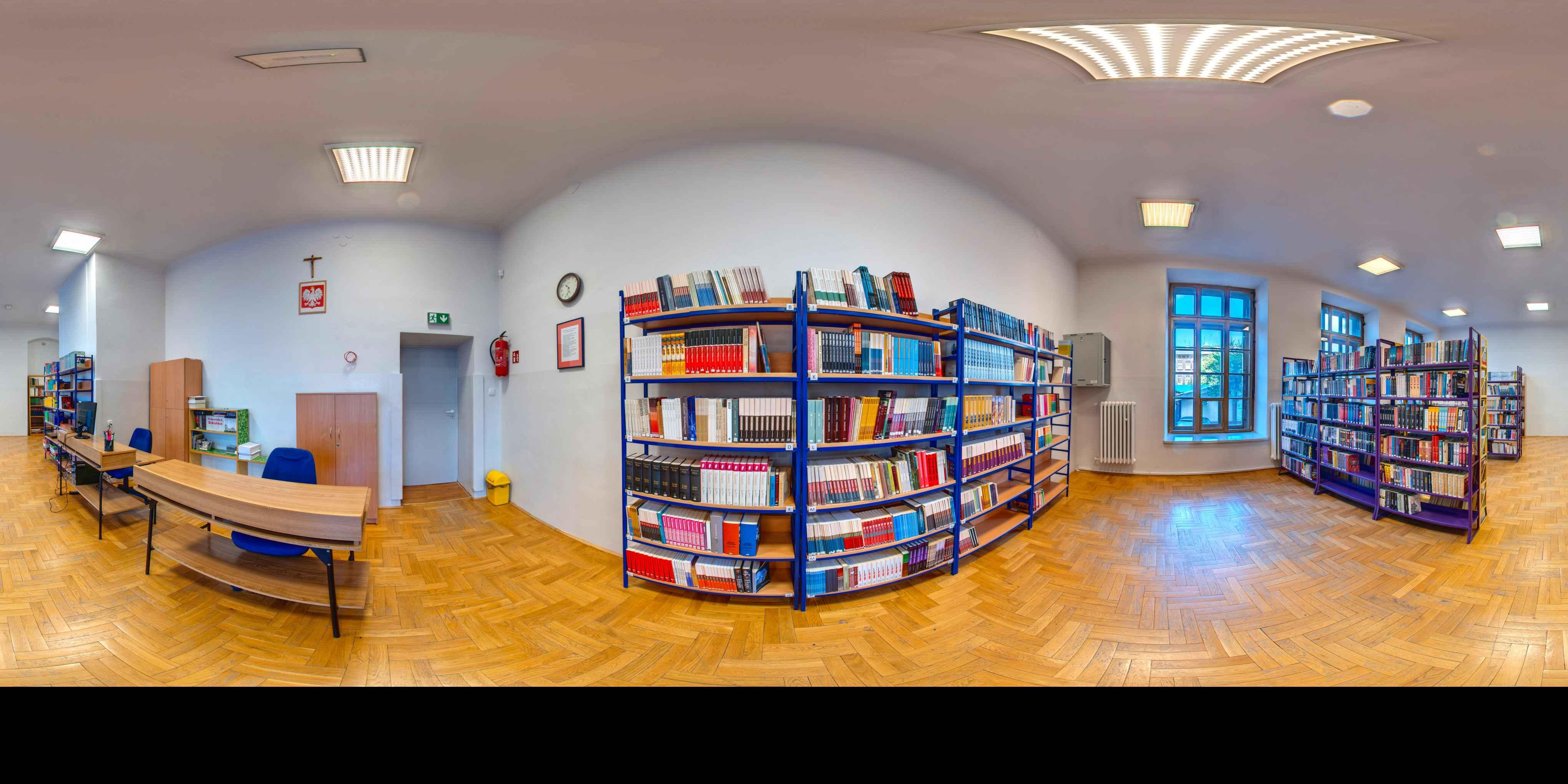 Prezentacja panoramiczna dla obiektu Gimnazjum nr 4 w Krakowie