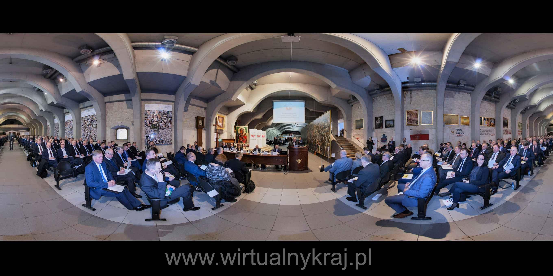 Prezentacja panoramiczna dla obiektu XXI Nadzwyczajne Zgromadzenie Ogólne ZPP