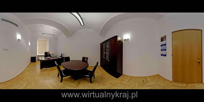 Prezentacja panoramiczna dla obiektu Wydział Fizyki, Matematyki i Informatyki Politechnika Krakowska