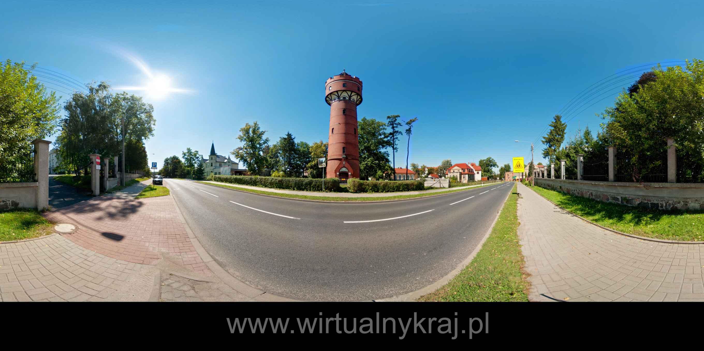Prezentacja panoramiczna dla obiektu miasto KOŻUCHÓW