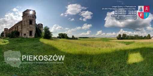 Prezentacja panoramiczna dla obiektu gmina PIEKOSZÓW