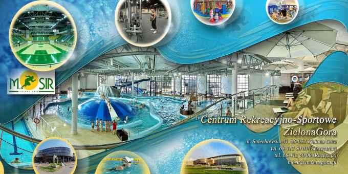 Prezentacja panoramiczna dla obiektu Centrum Rekreacyjno-Sportowe w Zielonej Górze