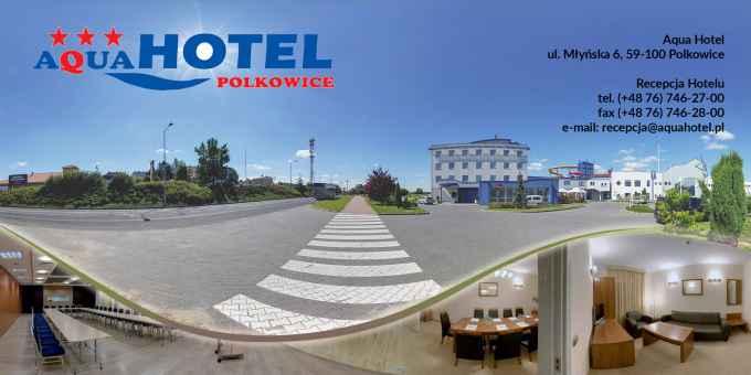 Prezentacja panoramiczna dla obiektu Aqua Hotel