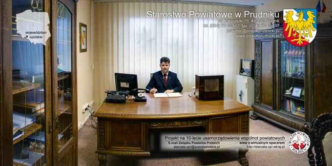 Prezentacja panoramiczna dla obiektu Starostwo Powiatowe w Prudniku