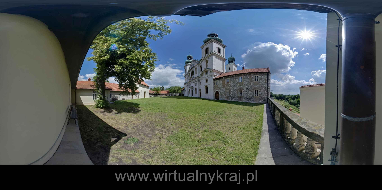 Prezentacja panoramiczna dla obiektu Klasztor Ojców Kamedułów na Bielanach