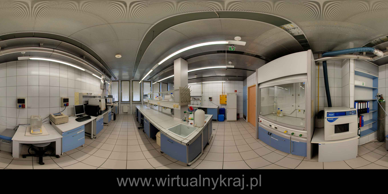 Prezentacja panoramiczna dla obiektu Uniwersytet Rolniczy w Krakowie - Wydział Technologii Żywności