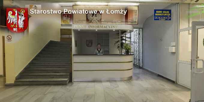 Prezentacja panoramiczna dla obiektu Starostwo Powiatowe w Łomży