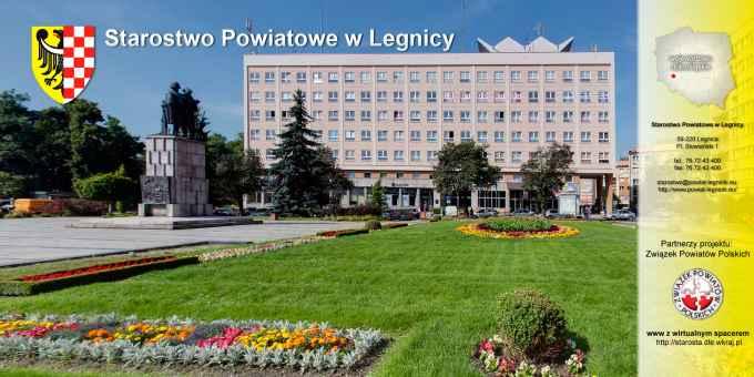 Prezentacja panoramiczna dla obiektu Starostwo Powiatowe w Legnicy