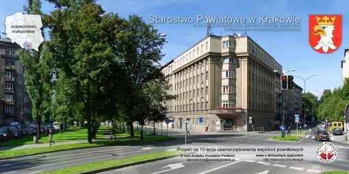 Prezentacja panoramiczna dla obiektu Starostwo Powiatowe w Krakowie