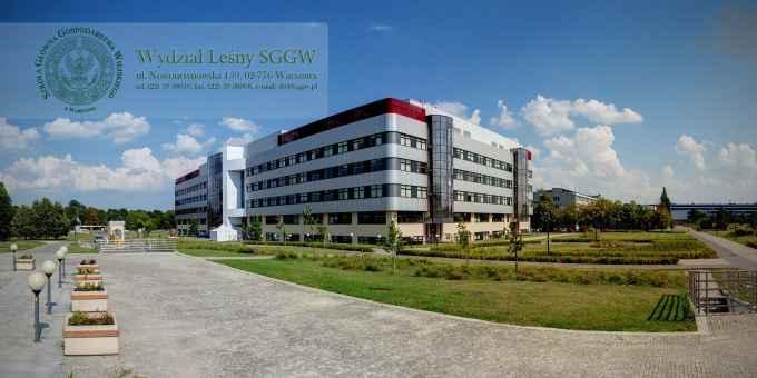 Prezentacja panoramiczna dla obiektu Wydział Leśny SGGW