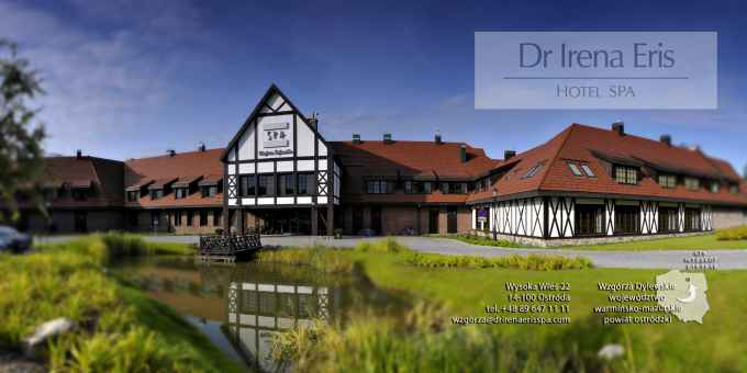 Prezentacja panoramiczna dla obiektu Hotel SPA Dr Irena Eris Wzgórza Dylewskie