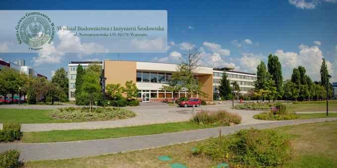 Prezentacja panoramiczna dla obiektu Wydział Budownictwa i Inżynierii Środowiska SGGW