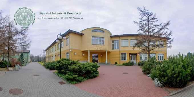 Prezentacja panoramiczna dla obiektu Wydział Inżynierii Produkcji SGGW