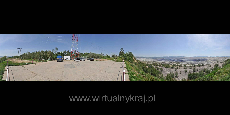 Prezentacja panoramiczna dla obiektu taras widokowy PGE