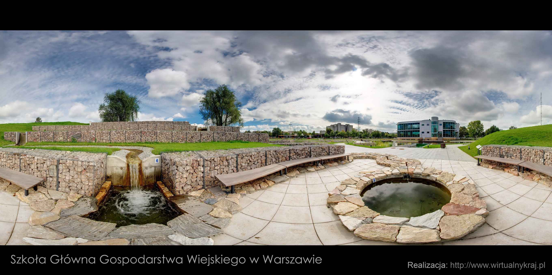 Prezentacja panoramiczna dla obiektu Centrum Wodne SGGW