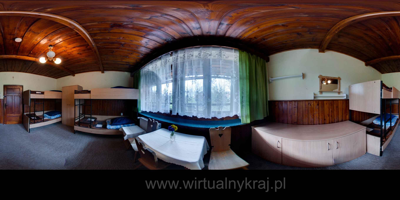 Prezentacja panoramiczna dla obiektu Szkolne Schronisko Młodzieżowe w Zakopanem