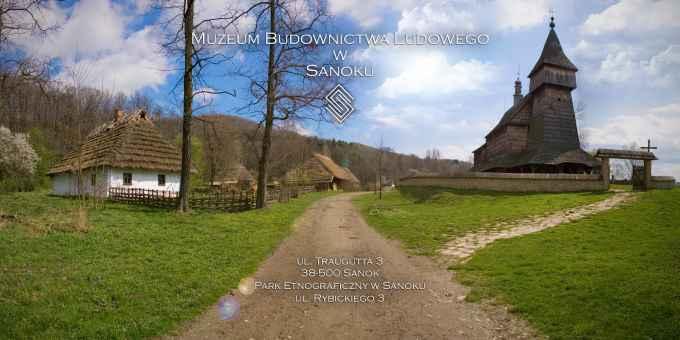 Prezentacja panoramiczna dla obiektu Muzeum Budownictwa Ludowego