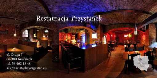 Prezentacja panoramiczna dla obiektu Restauracja Przystanek