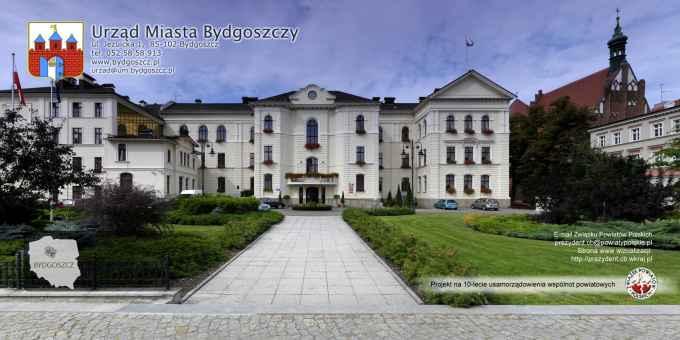 Prezentacja panoramiczna dla obiektu Urząd Miasta w Bydgoszczy