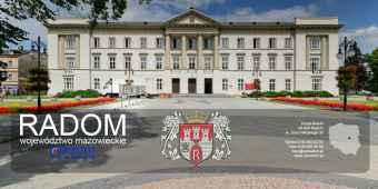 Prezentacja panoramiczna dla obiektu Urząd Miejski w Radomiu