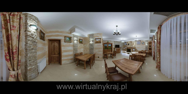 Prezentacja panoramiczna dla obiektu Restauracja u Lipy